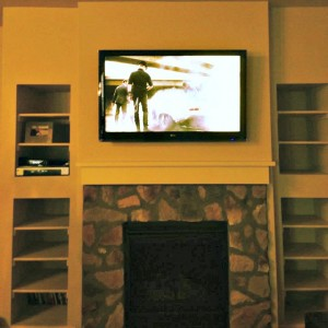 Fireplace TV Mount in Denver