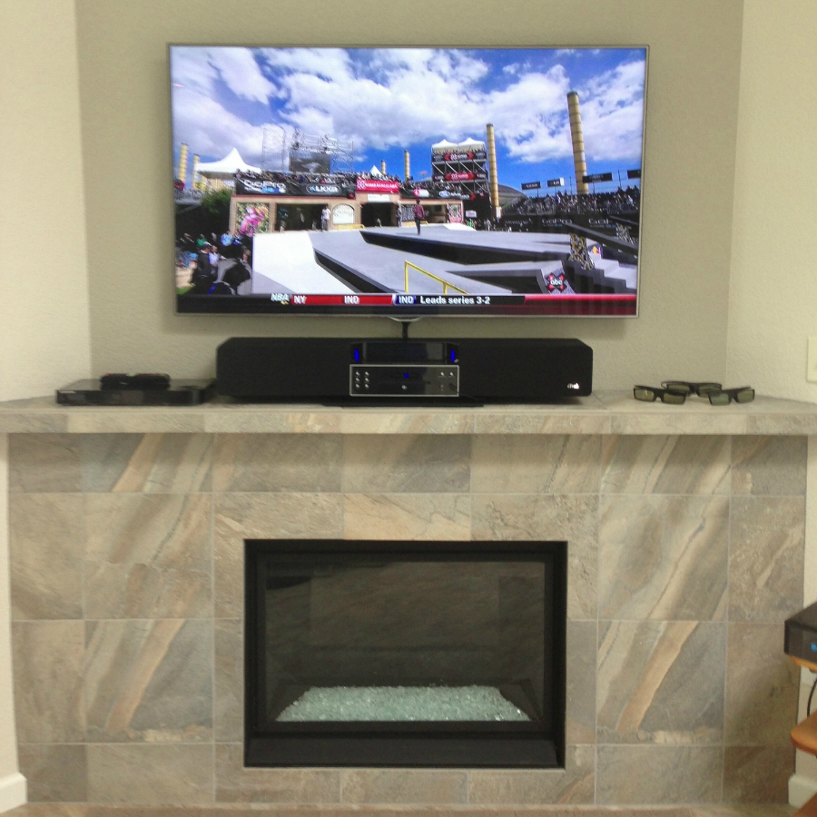 Check out the photos of past projects done by Rocky Mountain Install LLC!  DirecTV Satellite and Home Theater Installs.  TV Mounts & Surround Sound Systems.